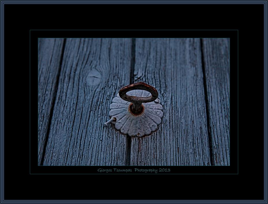 Κλειδί στην πόρτα στην Φουρνή Λασιθίου