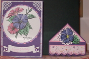 Friday's Bookmark Challenge w/matching card.