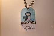 Rosy-Cheeked Penguin Tag