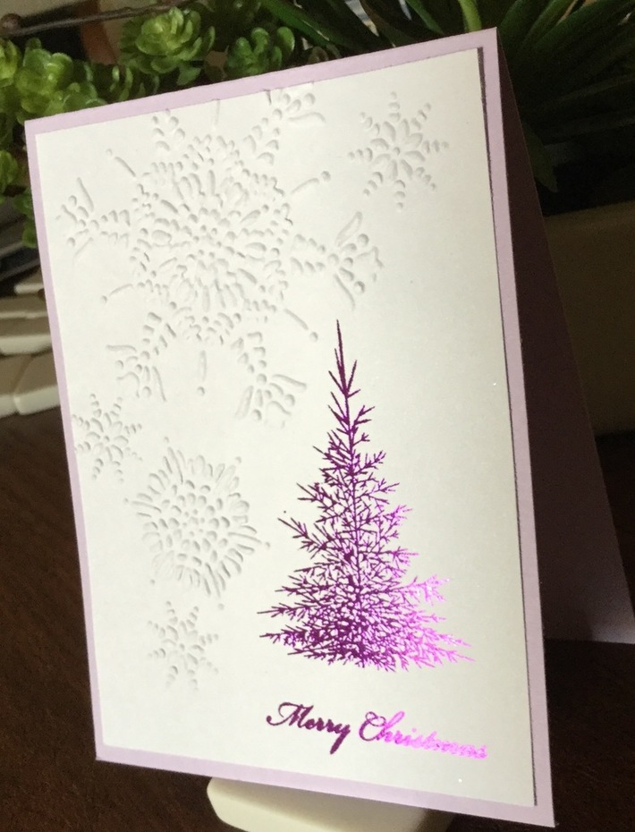Non-Christmas Colors-2 - World Card Making Day Challenge