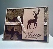 Masculine card - Merry Christmas