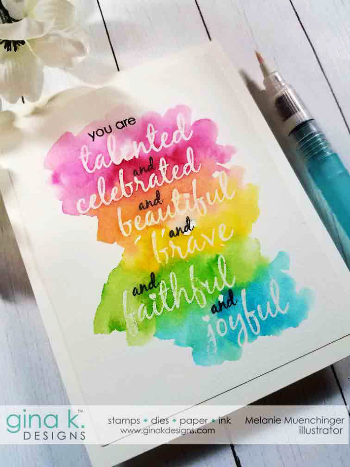 Watercolored You Are