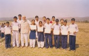 Garvin distributed the Certificate to children which was received from Children Workshop to children of Parijat