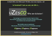 UZESCO invitation 7 juin