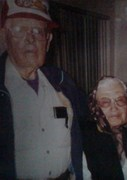 Tia Lucy and her husband