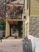 Old Salem, Forsyth Co., North Carolina; Adam Butner's 1825 hat shop