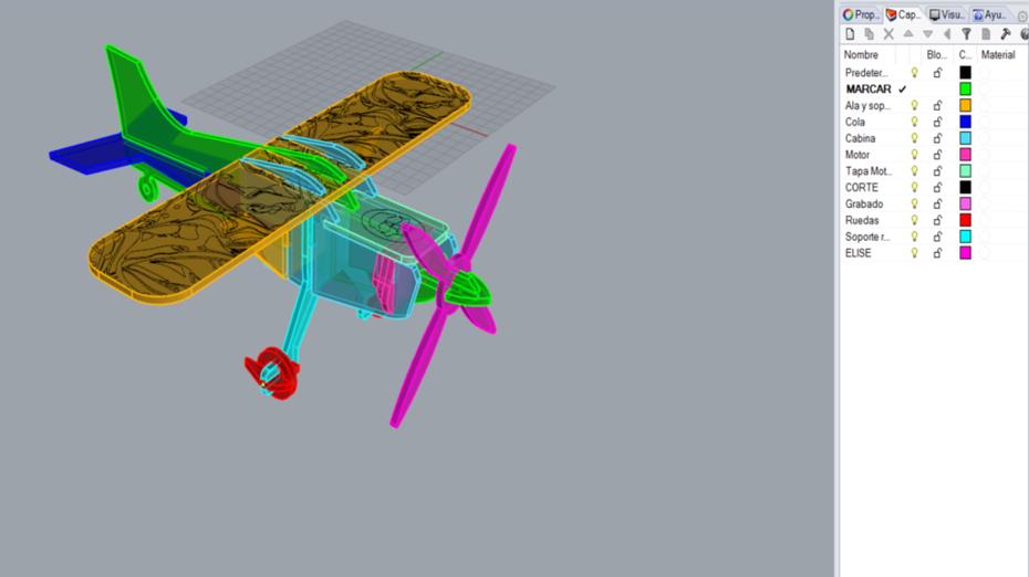 Avión Armado
