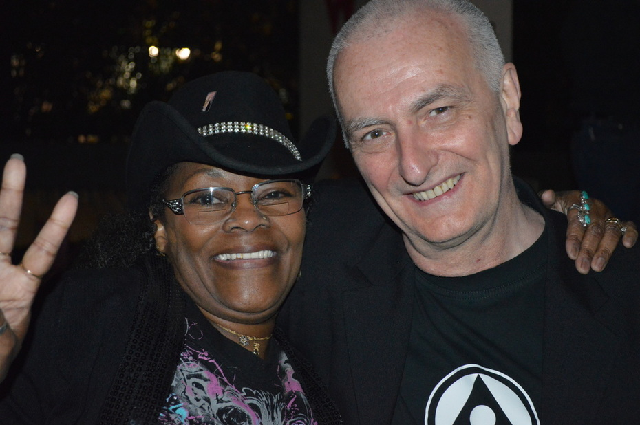 Indie Music Channel Awards - Blues Award winners SharBaby and Trevor Sewell