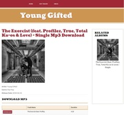 Get That Brand New  Single The Exorcist By Young Gifted  Available On 6th Avenue http://6thavenue.in/download/mp3/the-exorcist-feat-profilez-true-total-ka-os-love-single-young-gifted/1382484497