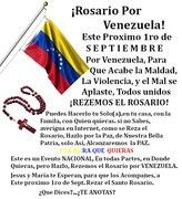 ROSARIO NACIONAL POR VENEZUELA