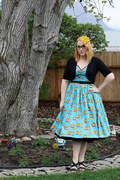 Mary Blair print Heidi dress