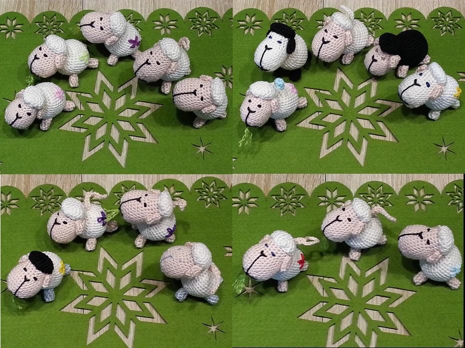 Schafsherde Teil 1