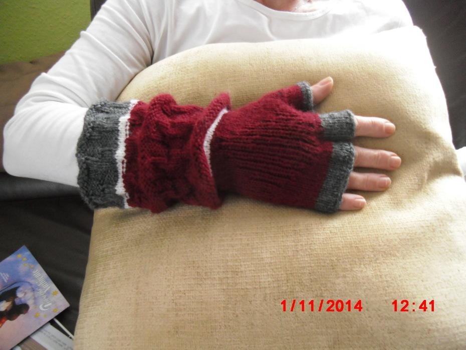 3 Finger Handschuh 2/2