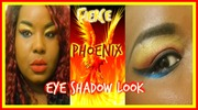 Fierce Phoenix Eyeshadow Look