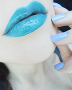 Blue Lips of the Day