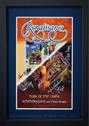 2011 Signed Tour Poster
