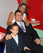 I my wife and my son!