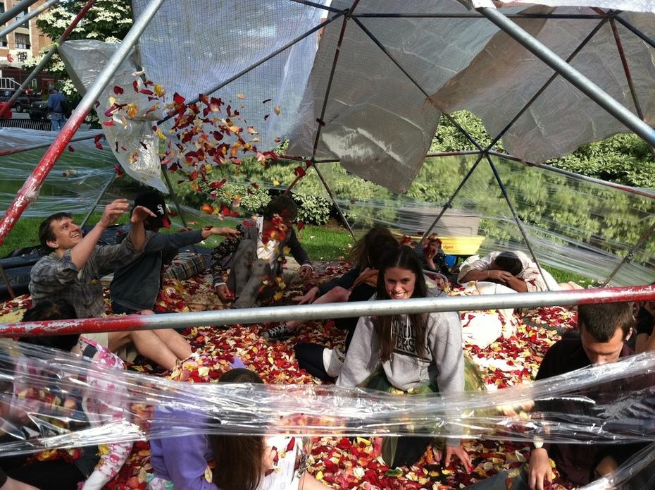 Rose Petal Tent