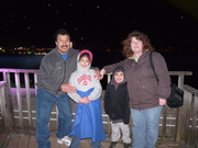 OUTSIDE THE BUILDING OF THE LIGHTS THAT WE CHANGED ON THE FALLS