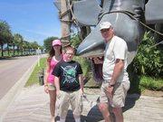 Stephanie, Bradley, and Tom