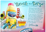 """Odwalla's """"Rock the Bay"""" Ticket Giveaway and Contest Deadline July 29"""