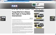 "Young Gifted Featured On_Fox News 8  ""New Orleans"""