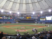 Tropicana Field; St. Petersburg, FL