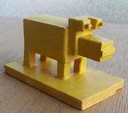 Yellow dog.