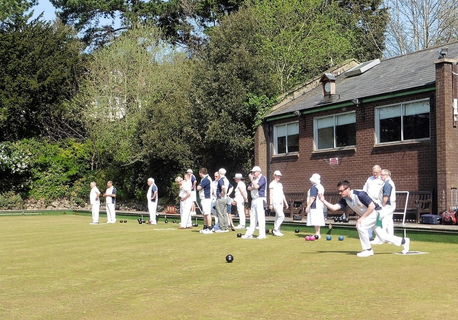 St. Andrews bowling green.