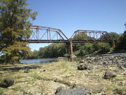 One of the old rail bridges in Albany, GA...