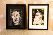 Collage framed