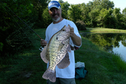 New Record Crappie Caught by BBG Member