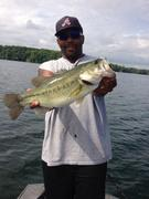 Pre-Frontal Bass Fishing 5