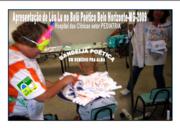 BANDEIJA POÉTICA EM FORMA DE REMÉDIO