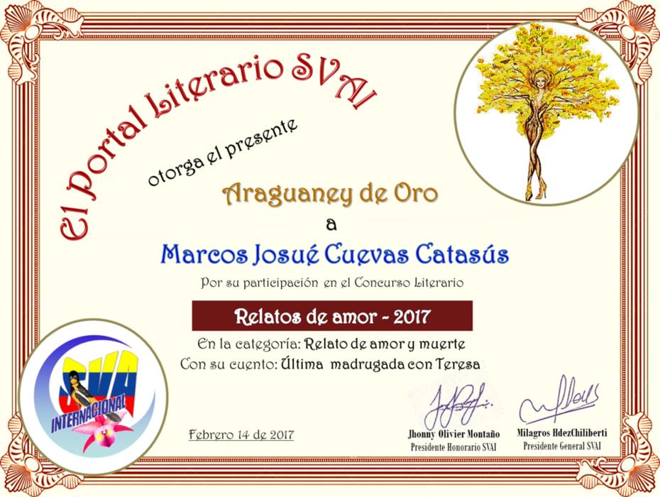 MARCOS JOSUÉ CUEVA CATASÚS