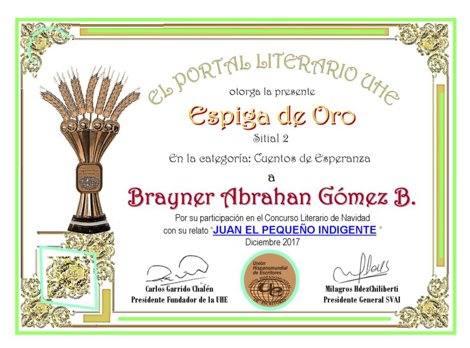 BRAYNER ABRAHAN GOMEZ BAEZ