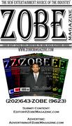Zobe Magazine Business Card