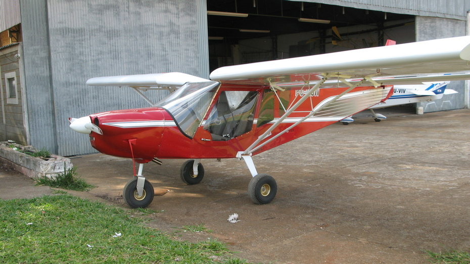 Stol 750 without leading edge slats