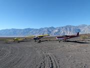 Three Zenith Aircraft at the Chicken Strip, Death Valley, CA