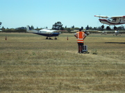 STOL Competition Photo 2: Airborne and Getting Ready