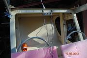 Installing Cabin Lights.