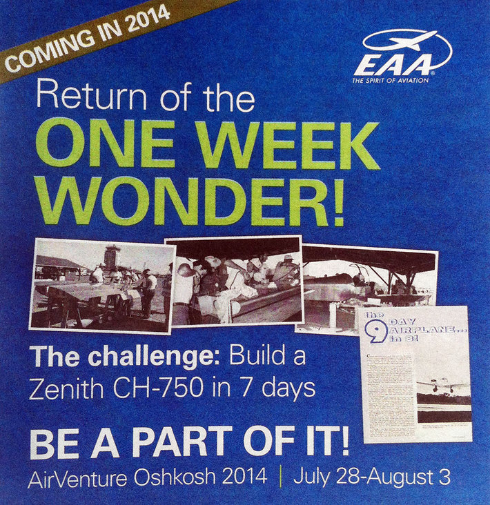 Return of the One Week Wonder!