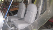 Seat upholstery done!