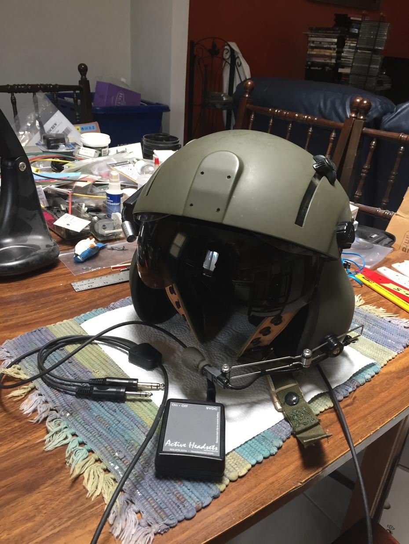 CH701 helmet - Converted Gentex SPH-4B