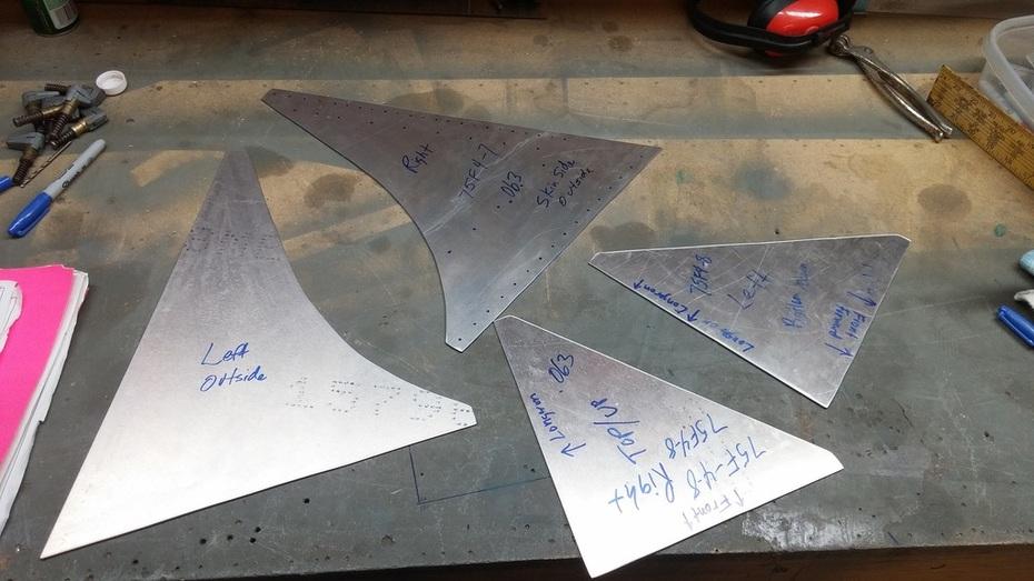 Rear Fuselage Doublers