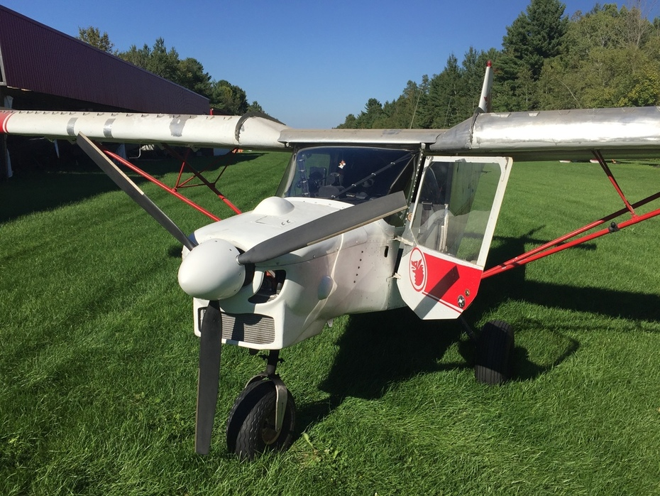 CH701sp - Back to the barn after successful test flight