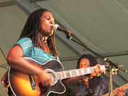 Ruthie Foster, © 2012, Timothy Gangwer