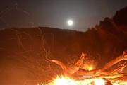 Φωτιές το βράδυ του Λαζάρου στη Μηλιά Μετσόβου