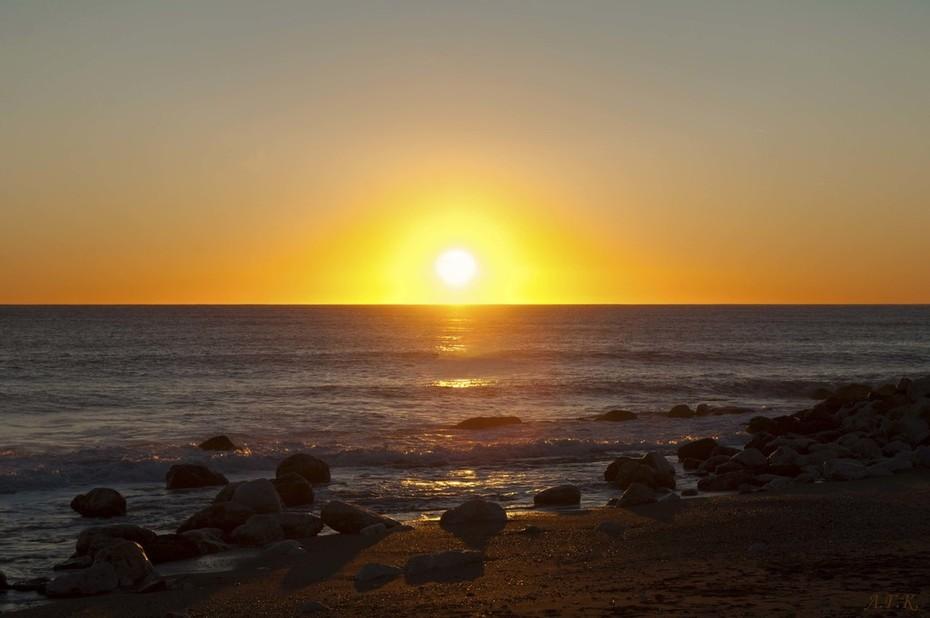 Ηλιοβασίλεμα του Λιβυκού
