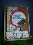 Mixed stamps GKD B-day and Celebrate Card